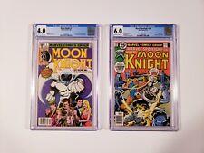 Moon Knight #1 CGC 4.0 1980 & Marvel Spotlight #29 CGC 6.0 OWWP needs press