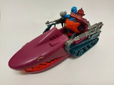 MOTU He Man Masters of the Universe Land Shark Vehicle & Two Bad Figure