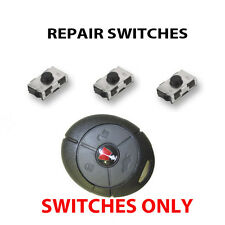 3 NEW ROVER PEKTRON MG ZR ZS TF  25 45 KEY FOB REMOTE NEW REPAIR SWITCHES