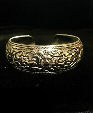 Bracelet Silver Boho Ethnic Tribal Belly Dance Gypsy Bohemian Adjustable B1028