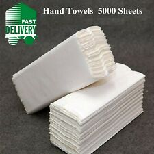White Paper Hand Towels Interfold Multi fold Z fold Premium Quality 5000