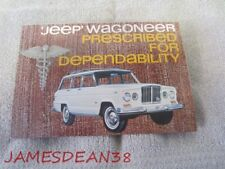 1963 Willys Jeep Wagoneer Prescribed For Dependability Sales Brochure