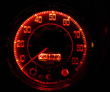 Morris Austin Mini Mk 2 3 Smiths Dash Clock Gauge Red LED Full 8 Bulb Set/Kit