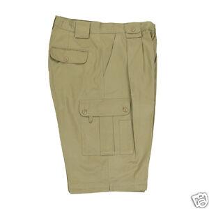 Multi purpose safari cargo utility cotton shorts size 32 to 48 Alexanders of Lon