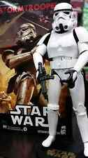 1 Imperial Stormtrooper Star Wars 12'' Figure 1/6 STAR WARS+ Sideshow stand NICE