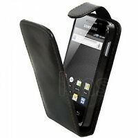 Samsung Executive Leather Case for Galaxy Ace - Black