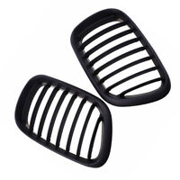 For BMW E53 X5 Pre-Facelift Model Sport Kidney Front Grille Grill 1999-2003 Pair