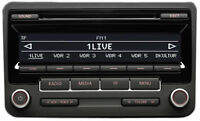 VW RCD 310 DAB AUX BLUETOOTH CD RADIO PASSAT SCIROCCO GOLF TOURAN CADDY + Code