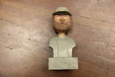 Confederate Soldier Carving Painted - Outsider Art