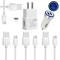 Fast Charging for Samsung Galaxy S8 S9 S10 Plus S10e Note 9 Car Wall Charger Set