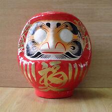 Poupée Daruma-Rouge du Japon --- hauteur 19cm / Rot Daruma / red Daruma --- 19cm