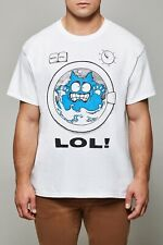 MENS FUNNY CAT T SHIRT CAT IN THE WASHING MACHINE
