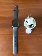 Apple Watch Series 2 38mm Aluminum Case Black Sport Band