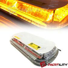 44 LED Amber Light Mini Bar Roof Top Emergency Warning Flash Strobe Light Truck