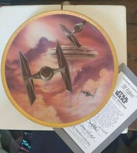 Star Wars Space Vehicles Plate Collection - TIE Fightter