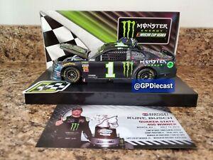 2019 Kurt Busch #1 Monster Energy Kentucky Race Win 1/24 Diecast