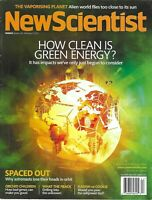 New Scientist Magazine Clean Green Energy Astronauts and Orbit Orchid Children