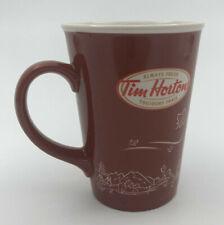 Tim Hortons Coffee Mug Toujours Frais Canada Skyline Maple Leaf 2010 Ltd Ed