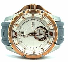 NOA Skandar Ronda Quartz Stainless Steel Rose Gold Plated Watch SK3H008 $1100