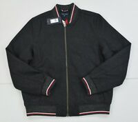 NWT Men's Tommy Hilfiger Full Zip Mitchell Thick Wool Blend Jacket Reg $229.99