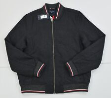 NWT Mens Tommy Hilfiger Full Zip Mitchell Thick Wool...