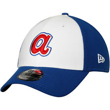 Atlanta Braves A New Era MLB 39THIRTY Team Classic Stretch Flex Cap Hat Retro