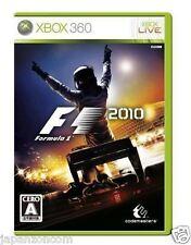 Used Xbox 360 F1: 2010  MICROSOFT JAPAN JP JAPANESE JAPONAIS IMPORT