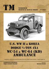 TANKOGRAD 6035 U.S. WWII & KOREA DODGE 3/4-TON 4X4 WC-54 & WC-64 (KD) AMBULANCE