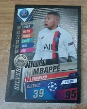 Match Attax 101 2020 Kylian Mbappe Silver Limited Edition card
