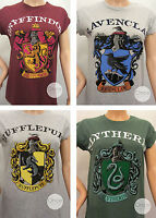 NEW! Primark Harry Potter HOGWARTS School Crests Logo T Shirt Official Licensed