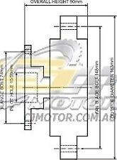 DAYCO Fanclutch FOR Toyota Crown Oct 1992 - Aug 1995 3.0L 24V JZS147R 2JZ-GE