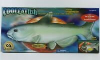 GEMMY Cool Catfish The Coolest Baddest Cat On Dry Land Animated Singing Fish