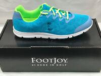 NEW FootJoy enJoy 95702 Womens Golf Shoes Pool Blue 8.5M Were $90