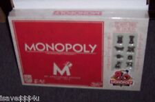 NEW HASBRO MONOPOLY 80TH ANNIVERSARY EDITION GAME W/ TOKENS FROM 1930'S - 2000