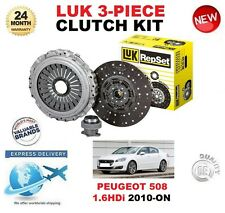 FOR PEUGEOT 508 1.6 HDi 112BHP 115BHP MANUAL DRIVE 2010-> CLUTCH KIT LUK 3 PIECE