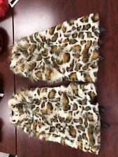 Fur Leg Warners Cheetah Print Very Thick And Fluffy