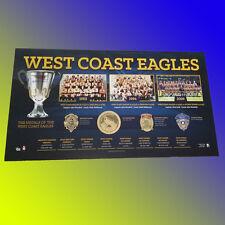PREMIERSHIP HISTORY WEST COAST EAGLES OFFICIAL AFL PREMIERS PRINT JUDD COUSINS