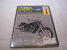 HAYNES HONDA VT1100 85-98 SHADOW   WORKSHOP MANUAL werkplaatshandboek