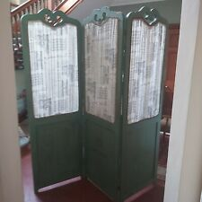 More details for stunning distressed room screen