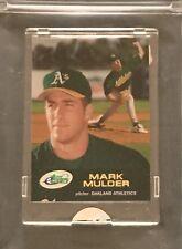 2001 eTopps Baseball - Encased #150 Mark Mulder #/4335 A's - FREE SHIPPING
