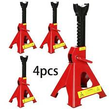 4PCS 3 Ton Axle Lifting Ccapacity Jack Stand Heavy Duty Car Caravan Floor Jack