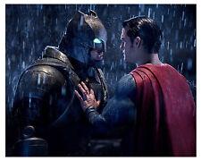 "(BATMAN v SUPERMAN) ""BEN AFFLECK & HENRY CAVILL"" 8x10 Glossy Photo"