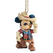 Disney  Roundup Mickey Mouse Hanging Figurine Christmas  Decoration