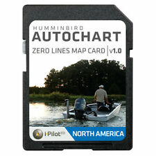 Humminbird 600033-1 Autochart Zero Lines Map Card