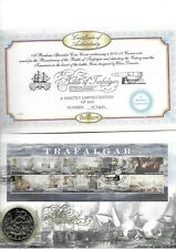 GB 2005 £5 Nelson & Trafalgar Coin on Benham Coin Cover
