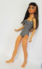 TIFFANY TAYLOR Doll Clothes Handmade BW Striped Swimsuit 1pc Fashion NO DOLL d4e