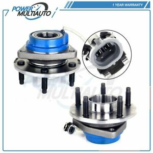2 Pcs New Front Left Or Right wheel Hub Bearing Assembly For Buick Century 5 Lug