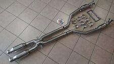 BMW E90 E92 E93 M3 08-12 TRACK SPEC Exhaust Quad Resonator Mid Pipe X Pipe 63mm