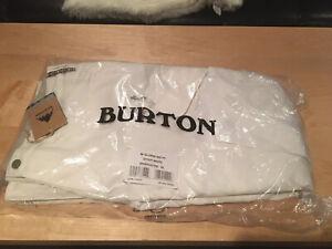 Burton Women's Snowboard Pants White XL Brand New