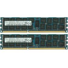 Hynix 32GB 2X16GB PC3-14900R 2Rx4 DDR3-1866Mhz 240Pin Server Registered Memory